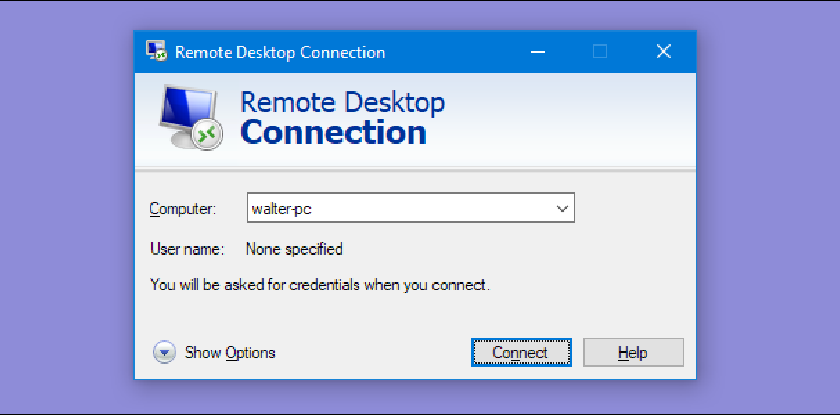 Choose The Right Choices for Remote Desktop Options